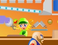 Playing-a-waitress-in-a-fast-food