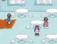 Restaurant-management-game-with-a-penguin